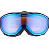 Alpina Challenge 2.0 Quattroflex Mirror S2 Goggle blue black matt